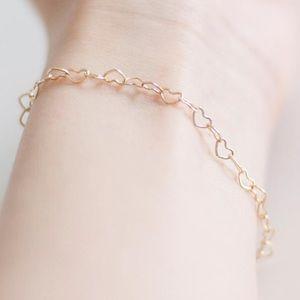 Jewelry - Dainty Heart Chain Bracelet